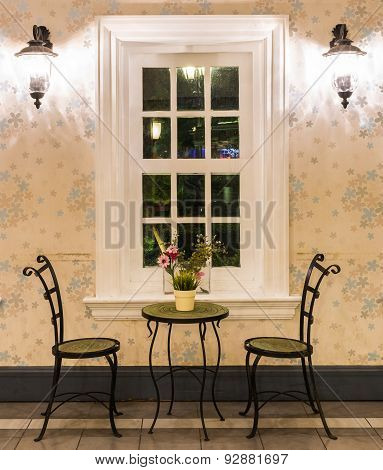 Steel Chair Decorative Luxury Modern In Living Room