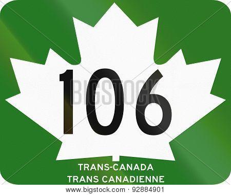 Trans-canada Highway 106