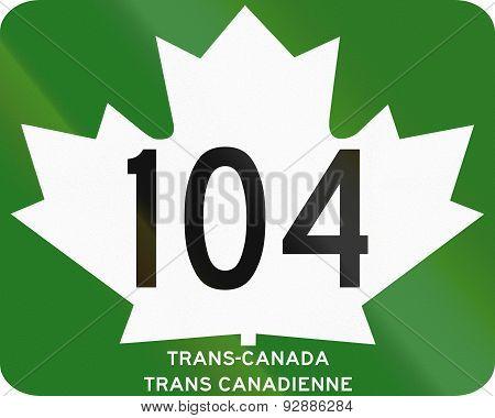 Trans-canada Highway 104