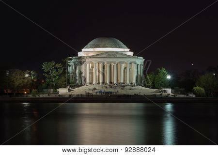 Jefferson Memorial At Sunset - Washington D.c.