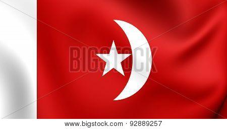 Flag Of The Umm Al-quwain, Uae.