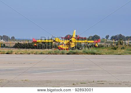 Canadair CL415 Fire Bomber.
