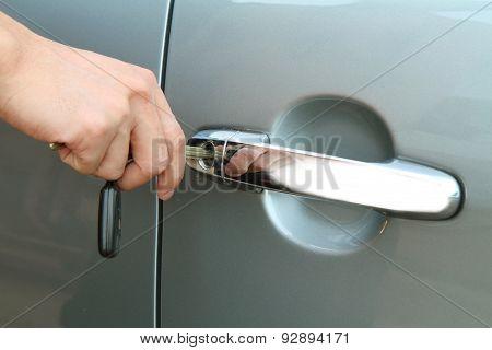 unlock the door car