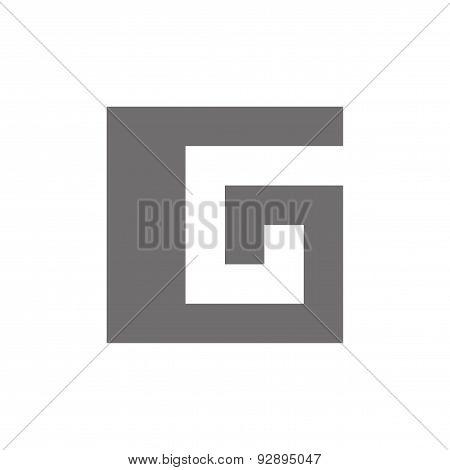 Letter G Logo Concept Icon. Vector