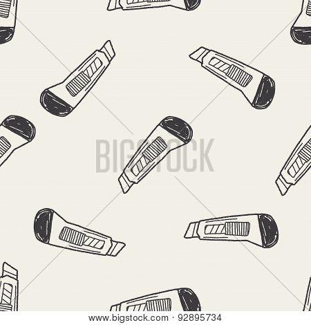 Utility Knife Doodle