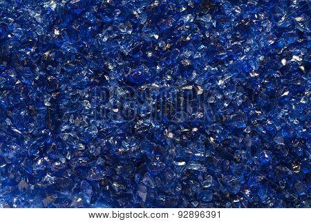 Blue mica texture