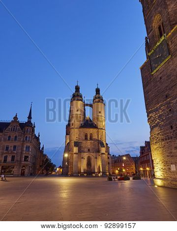 Market Church of Our Dear Lady in Halle Germany