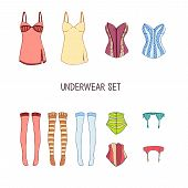 picture of knickers  - Set of underwear - JPG