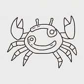 foto of cancer horoscope icon  - Cancer Constellation Doodle - JPG