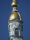 Russian Landmark - Clock Tower poster
