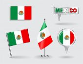 picture of mexican  - Set of Mexican pin - JPG
