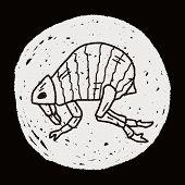 picture of lice  - Flea Doodle - JPG