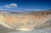picture of cottonwood  - Geological Formations in Ubehebe Volcano in Death Valley National Park - JPG