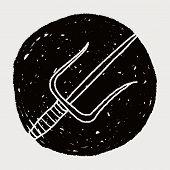 foto of trident  - Trident Doodle - JPG