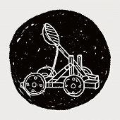 pic of trebuchet  - Trebuchet Doodle - JPG