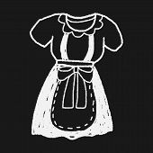 image of maids  - Maid Clothes Doodle - JPG