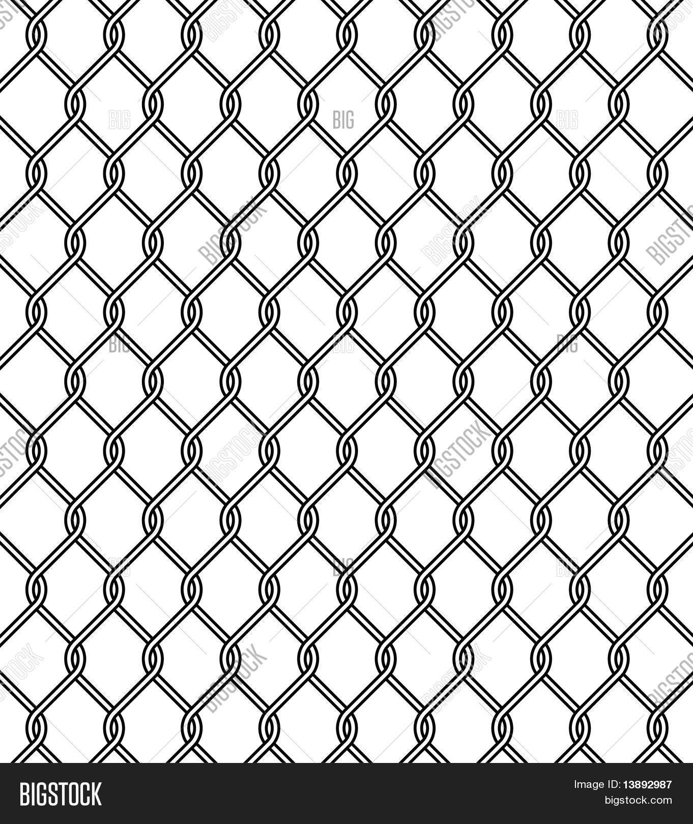 chain link fence texture vector photo bigstock