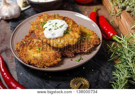 Fried Potato Pancakes