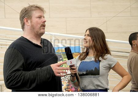 John DiMaggio chats with The IntelleXual News' Kristin Naomi Garcia,