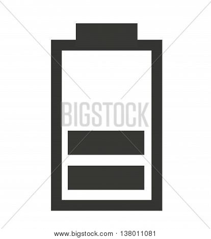 medium  Battery status isolated icon design, vector illustration  graphic
