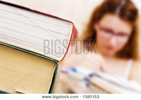 Mädchen schreiben