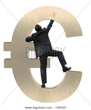Climbing Euro Currency