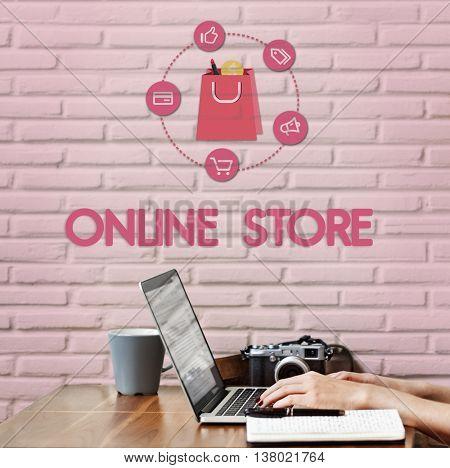Buying Consumerism Discount Merchandising Shopping Concept