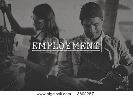 Employment Recruitment Occupation Concept