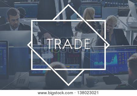 Trade Commerce Merchandise Sale Business Concept