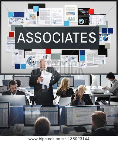 Associates Association Company Organization Concept