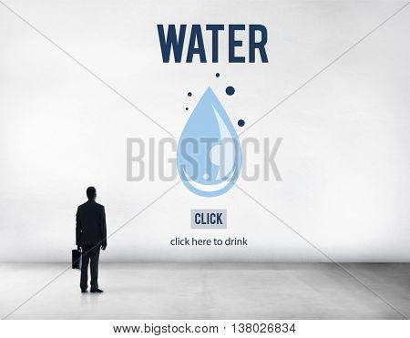 Water Aqua Fresh Liquid Humidity Moisture Wet Concept