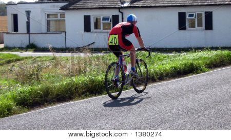 Competor/Athletic In Road Cycle Racing