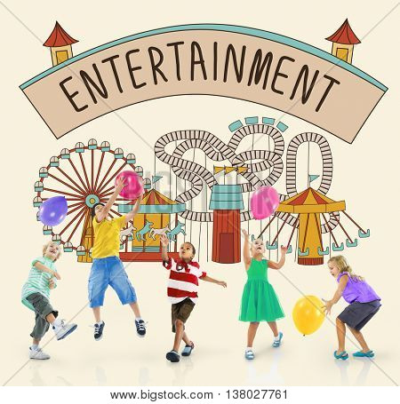 Entertainment Charm Enjoyment Thinking Act Concept