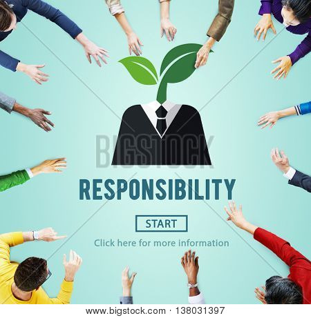Responsibility Roles Duty Task Obligation Responsible Concept