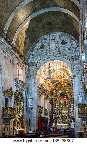 Carmo Church In Porto, Portugal.