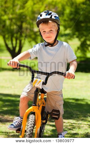 Boy With His Bike