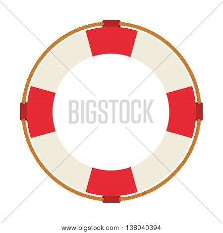 lifeguard float isolated icon design, vector illustration  graphic