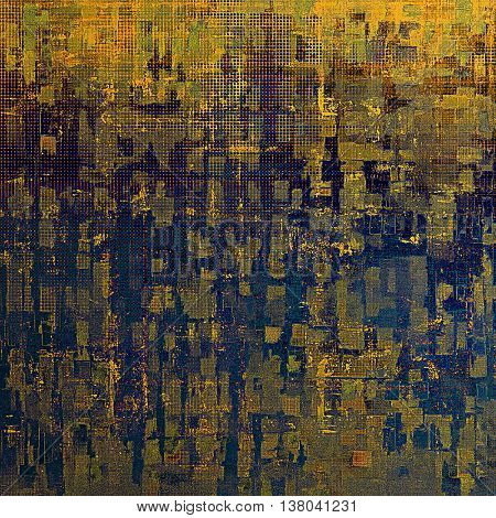 Colorful grunge background, tinted vintage style texture. With different color patterns: yellow (beige); brown; blue; gray; purple (violet)