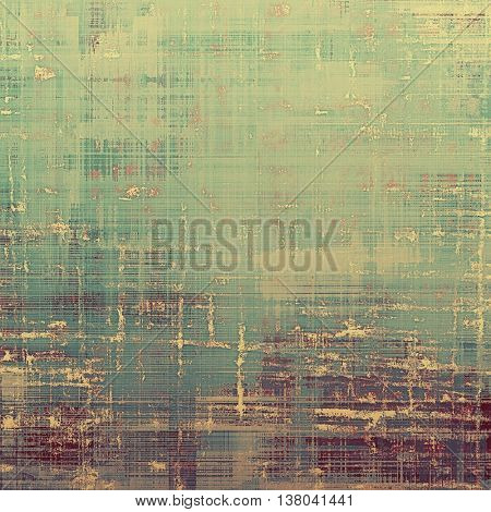 Hi res grunge texture or retro background. With different color patterns: yellow (beige); brown; green; cyan; gray; purple (violet)