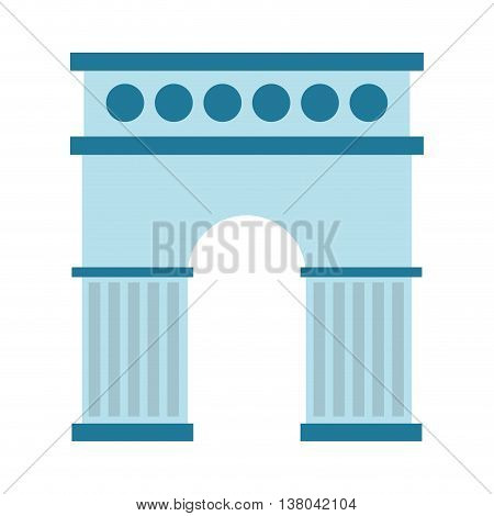 spain monument isolated icon design, vector illustration  graphic