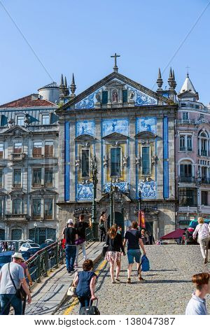 Igreja De Santo Antonio Dos Congregados Church In Porto, Portugal