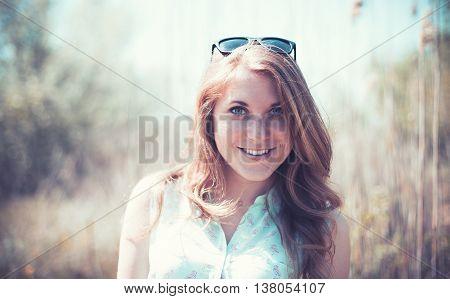 Girl Near Canes