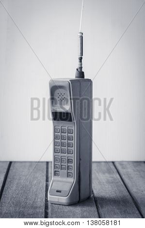 vintage mobile phone telecommunication ( vintage style )