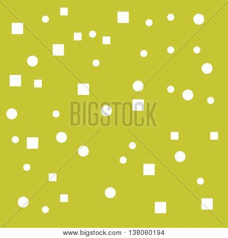 Yellow Background With geometric elements