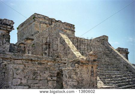 Ancient Mayan Steps