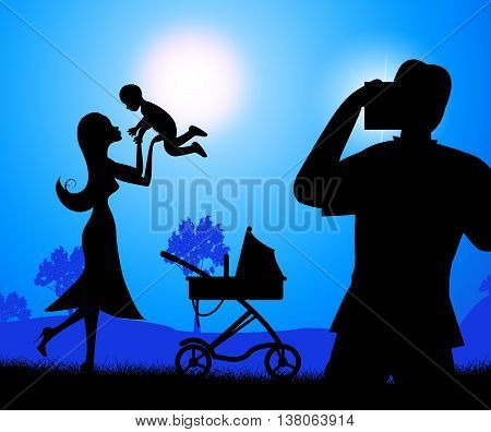 Photograph Baby Represents Photographers Youngster And Newborn