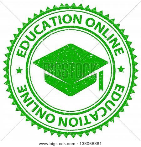 Education Online Shows Web Site And Educated