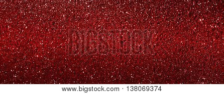 red glitter texture abstract use for banner background