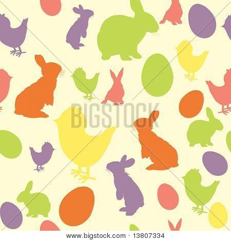 Vector illustration of Easter background