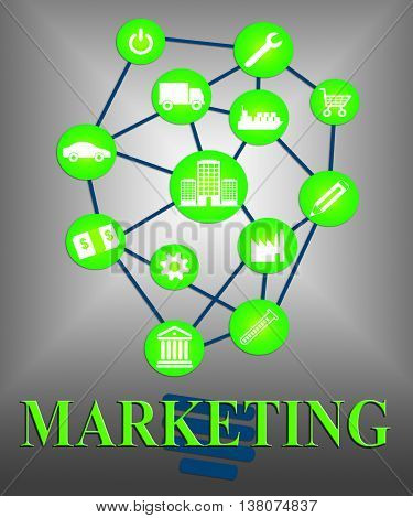 Marketing Ideas Indicates Reflection Conception And Creativity
